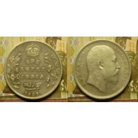 Британская Индия 1 рупия 1909 г