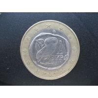1 евро Греция 2007