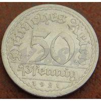 443**  50 пфеннигов 1921 А Германия