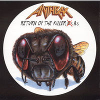 "Anthrax  CD ""Return Of The Killer A's"" 1999 (usa)"