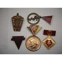 Знаки ГДР