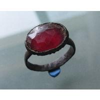 Перстень старинный с камнем ВКЛ.