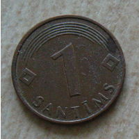 Латвия 1 сантим 2003 год