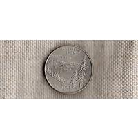 США квотер 25 центов 2005/Орегон(Nv)