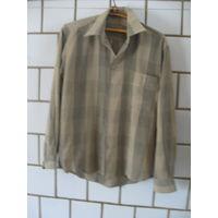 Рубашка мужская серая. Размер 40. Рост 170-176. Длинный рукав.