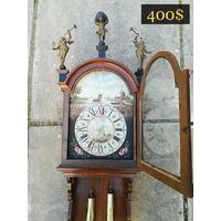 Старинные Голландские Настенные Фризские часы.