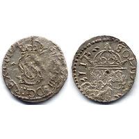 Шеляг 1614, Сигизмунд III Ваза, Вильно