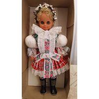 Кукла LIDOVA TVORBA 45 см Чехословакия.