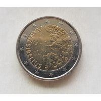 2 евро Финляндия 2015  150 лет со дня рождения Яна Сибелиуса