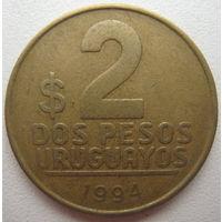 Уругвай 2 песо 1994 г. (d)