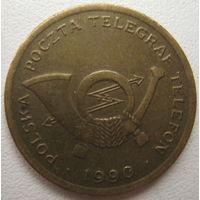 Жетон почта телеграф телефон Польша А 1990 г. (a)
