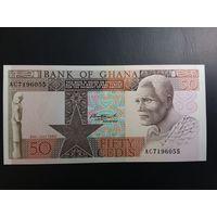 Гана 50 седис состояние  UNC