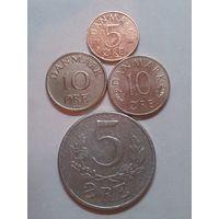 Дания 5+10 эре