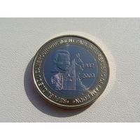 """Камерун.  6000 франков 2003 год  """"Президент - Поль Бийя""""  X#27"""