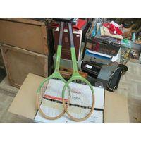 Две советские ракетки для тенниса Ekstra, ручка номер 5.