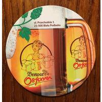 Подставка под пиво Browar Osjann /Biala Podlaska/
