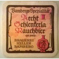 Aecht Schlenkerla Rauchbier подставка под пиво (Германия)