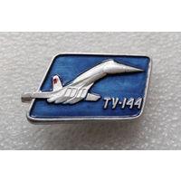 Значок. Самолеты. ТУ - 144 #0156