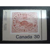 Канада 1982 фил. выставка, марка в марке