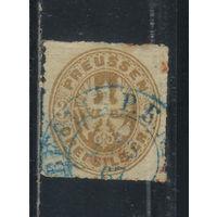 Пруссия Германия 1861 Герб Стандарт #18