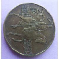 Чехия 20 крон 2002