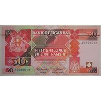 Уганда 50 шиллингов 1987 г. (g)