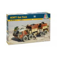 Автомобиль M985 HEMTT Gun Truck, сборная модель 1/35 Italeri 6510