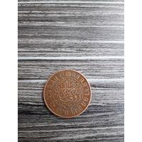 Голландская индия 1 цент 1920 года