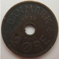 Дания 2 эре 1927 г. (g)