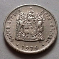 10 центов, ЮАР 1970 г.