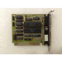 Мультипортовая плата (ISA, 8-bit) 1991г