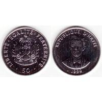 Гаити 50 сантим 1999 UNC