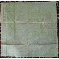 Большая немецкая карта 1943г. Житковичи. N-35-139 с отметками.