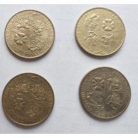 Италия 200 лир, 1993 70 лет военной авиации 5-12-8*11