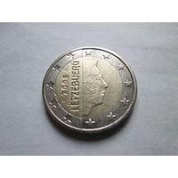 2 евро, Люксембург 2005 г.