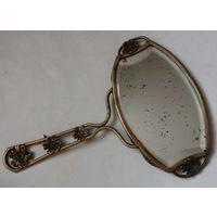 Старинное бронзовое зеркальце. С 1 рубля! Без МПЦ!