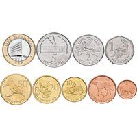 Мозамбик набор 9 монет 2006 UNC
