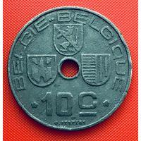 12-15 Бельгия, 10 сантимов 1946 г. Фламандский тип