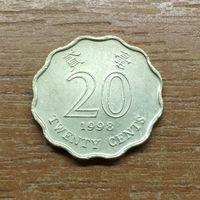20 центов Гонконг 1998_РАСОДАПРЖА КОЛЛЕКЦИИ
