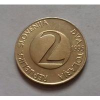 2 толара, Словения 1995 г., AU