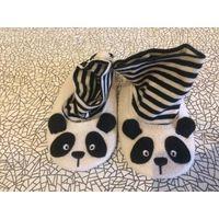 Суперские пинетки панда по стельке 11,5 см. Состояние идеал.