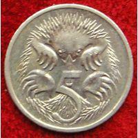 7323:  5 центов 2007 Австралия