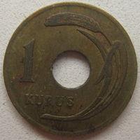 Турция 1 куруш 1949 г.