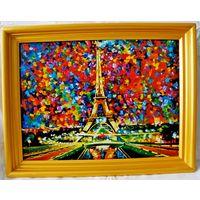 Картина холст , акрил 30х40 см.(цена без рамы).