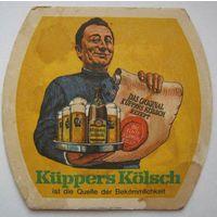 """Подставка под пиво """"Kuppers """".Германия."""