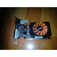 Видеокарта nVIDIA GeForce GT 440 1 Gb DDR3 128 бит, хорошая карта тихая и сильная,  почта по РБ 5 рублей (6 рублей с пересылкой осторожно).