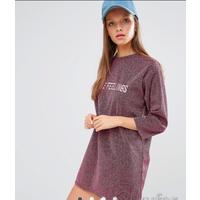 Новое платье с метал. волокнами Stylenanda, S-M