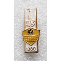 Значок. Олимпиада 1980 года. Волейбол #0360