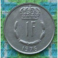 Люксембург 1 франков 1976 года. Подписывайтесь! Много новых лотов в продаже!!!