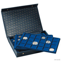 Папка MK 4 TAB BL с планшетами на 160 монет . распродажа